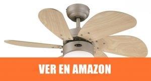 Westinghouse Turbo Swirl - Ventilador de techo