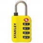 Stanley S742-059 - Candado con indicador de seguridad